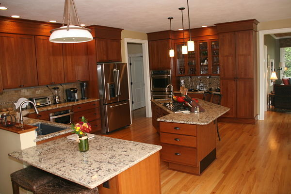 Universal Design Lakefront House Kitchen By Mcclurg Remodeling Construction Services