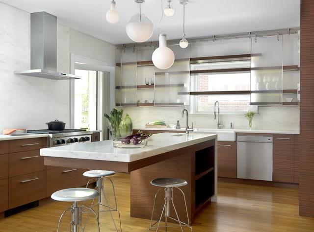 University City Renovation Contemporary Kitchen St Louis By Studio Durham Architects