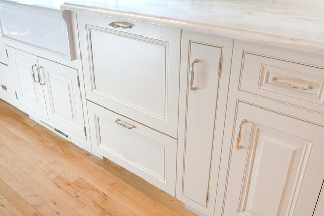 dishwasher with 2 panels traditional-kitchen