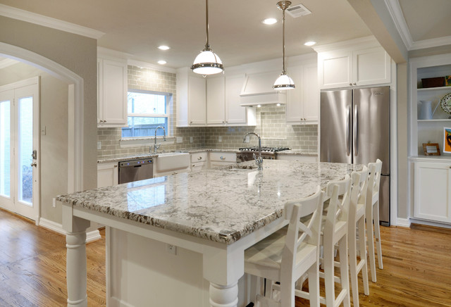 University Park Remodel - Traditional - Kitchen - Dallas - by Greenbrook Homes
