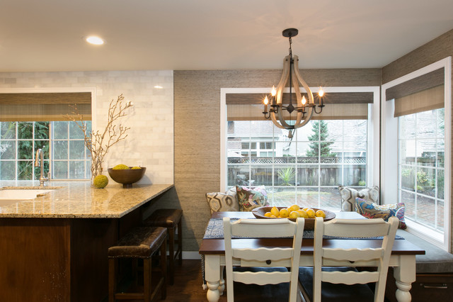 University Place Redesign Traditional Kitchen Seattle By Alinda Morris Interior Design Llc