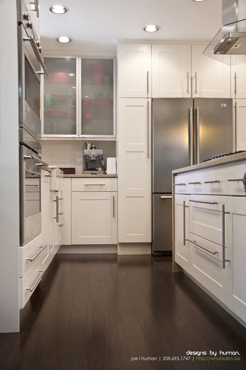 I love this look and I am looking to do something similar in my kitchen but am concerned about ...
