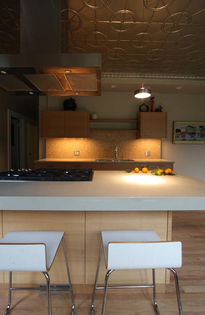 Upcycled Kitchen - Modern - Kitchen - portland - by Hammer & Hand
