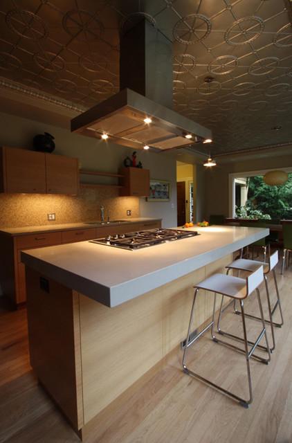 Upcycled Kitchen Modern Kitchen Portland By Hammer