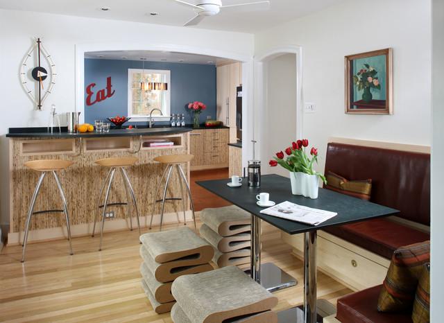Upcycled kitchen in arlington va contemporary kitchen for Kitchen remodeling arlington va