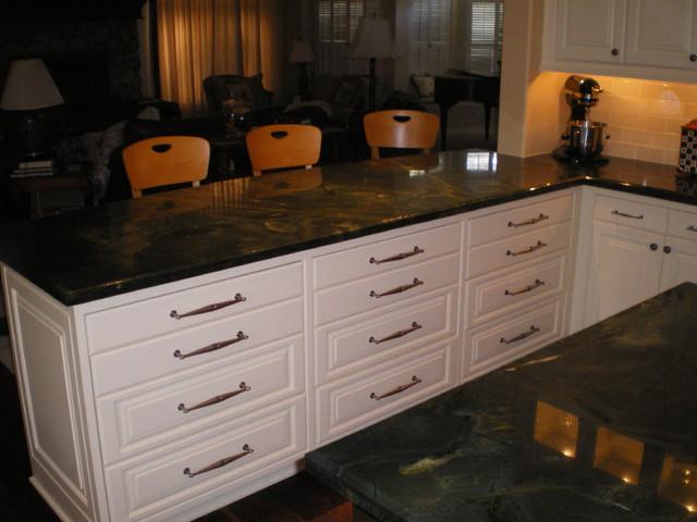Updated Custom Kitchen Remodel - Traditional - Kitchen ...