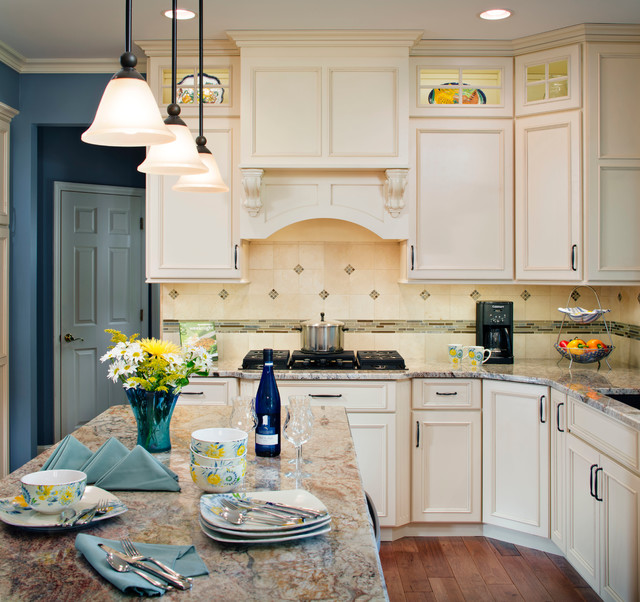 Updated Design Traditional Kitchen St Louis By
