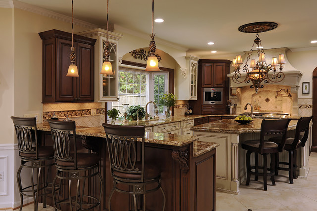 Updated Elegant Traditional Kitchen - Traditional - Kitchen ...