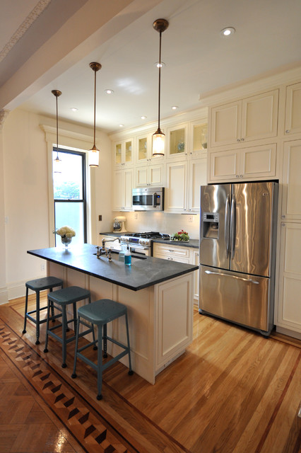 updated kitchen - Traditional - Kitchen - New York - by ...