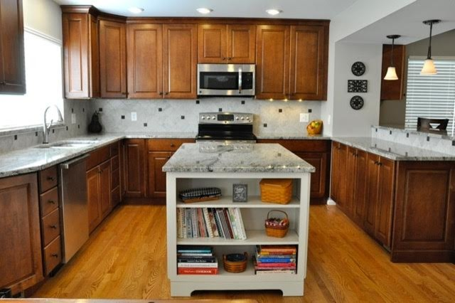 Updated Traditional 2 story Expanded Kitchen