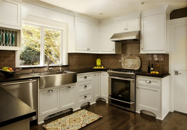 Updated Traditional traditional-kitchen
