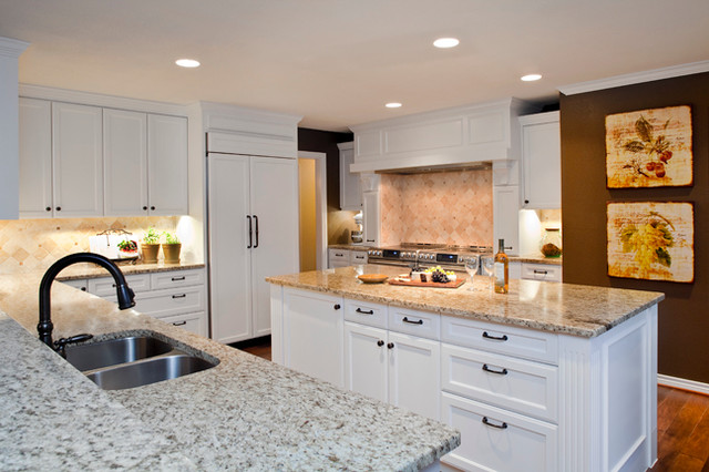 Updated traditional kitchen and breakfast traditional for Traditional kitchen meaning