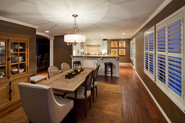 Updated Traditional Kitchen and Breakfast traditional-kitchen