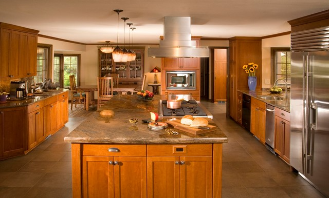 Updated tudor for Traditional kitchen meaning
