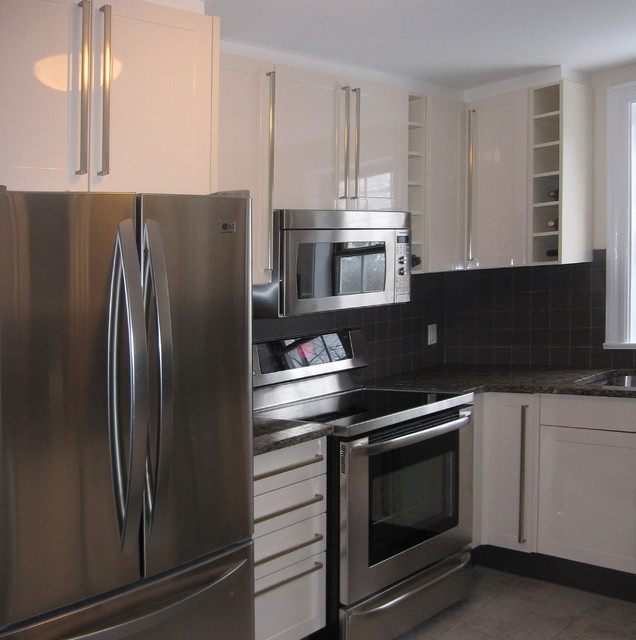 Upgrade in Old Home contemporary-kitchen