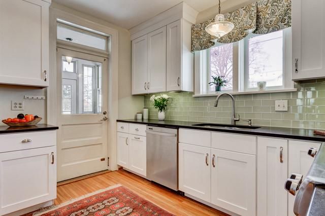 Upper Arlington Modern/Retro Kitchen Transitional Kitchen