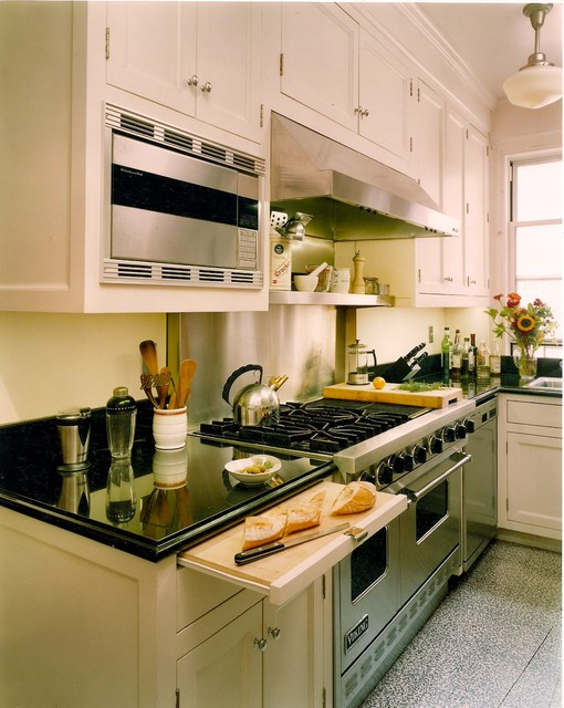 Upper East Side Apartment traditional-kitchen