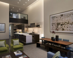 Upper East Side Apartment contemporary kitchen