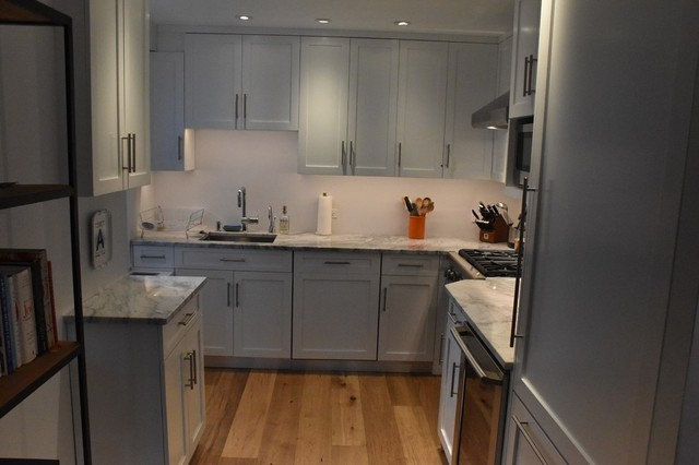 Upper east side installations contemporary kitchen for Gothic cabinet craft new york ny