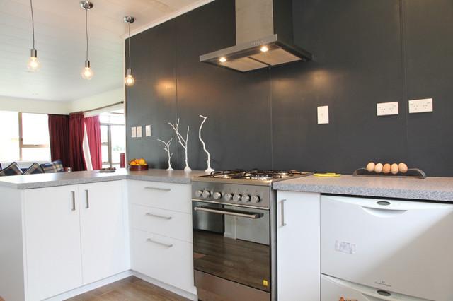 Upper Hutt Kitchen contemporary-kitchen