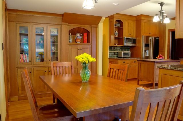 Upper Montclair Arts & Crafts traditional-kitchen