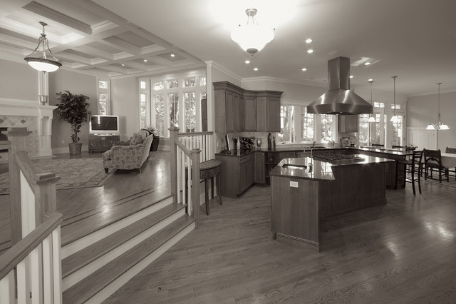 Upper Montclair, NJ, New Home, Valley Road traditional-kitchen
