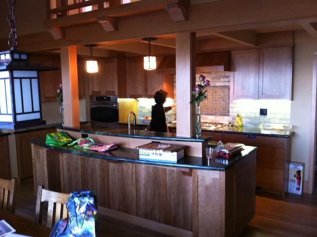 Upper Ski Slope - Tahoe Donner traditional-kitchen