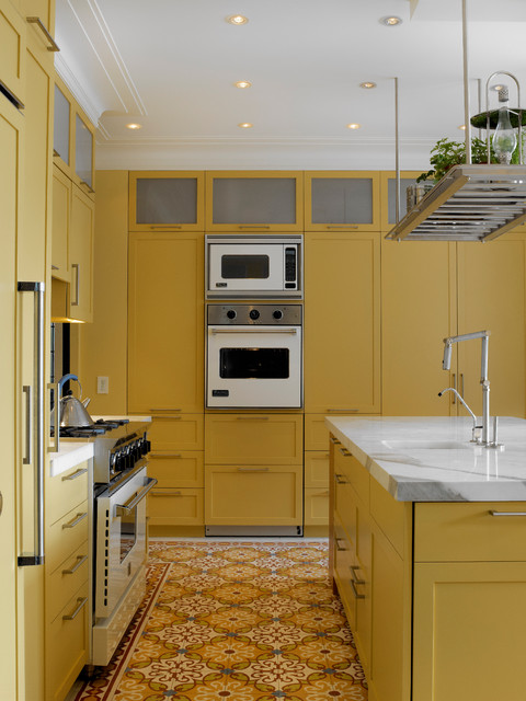 contemporary kitchen by Rusk Renovation