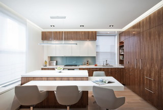 Upper West Side Combo - Modern - Kitchen - New York - by StudioLAB