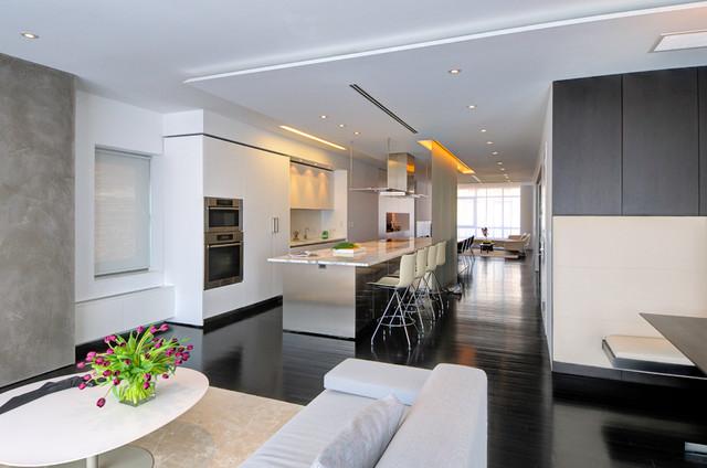 Upper West Side Duplex Modern Kitchen New York By