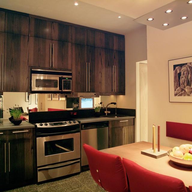 Upper west side manhattan contemporary kitchen new york by ddg design studio - Manhattan kitchen design ...