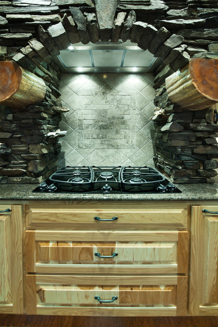 Upper Whitefish traditional-kitchen