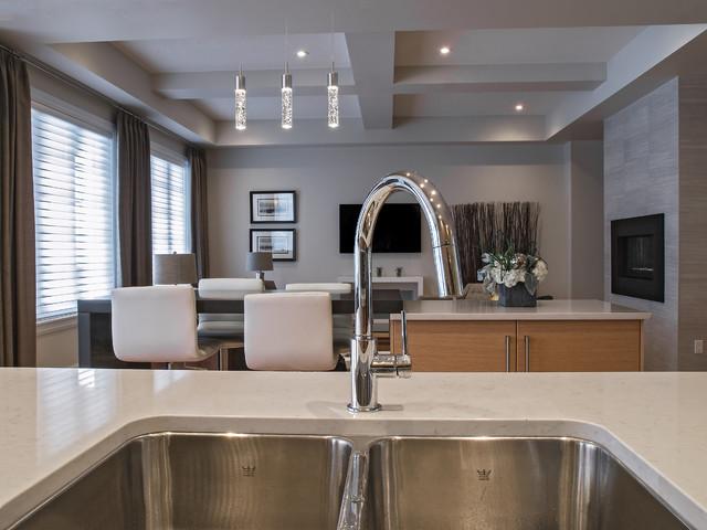 Upper Windermere  Premier - The Modena Show Home contemporary-kitchen