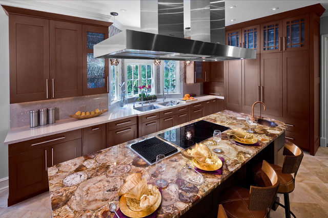 Upscale Transitional Photos Transitional Kitchen Los