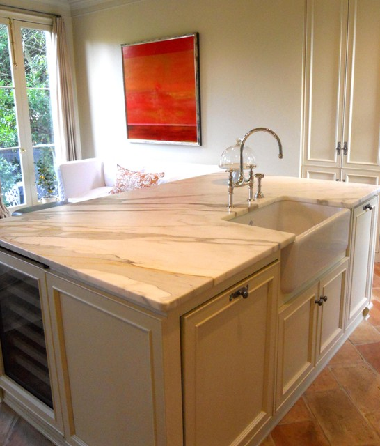 Uptown traditional kitchen new orleans by bella cucina for Bella cucina kitchen cabinets