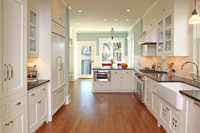 Uptown Charmer traditional-kitchen