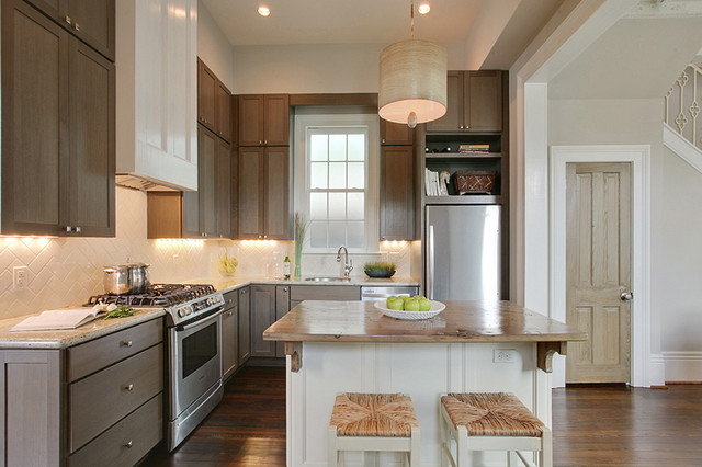 Uptown New Orleans Cottage Kitchen Renovation Traditional Kitchen New Orleans By