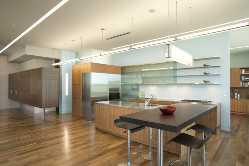 Modern Kitchen by Minneapolis Architects & Building Designers ALTUS Architecture + Design
