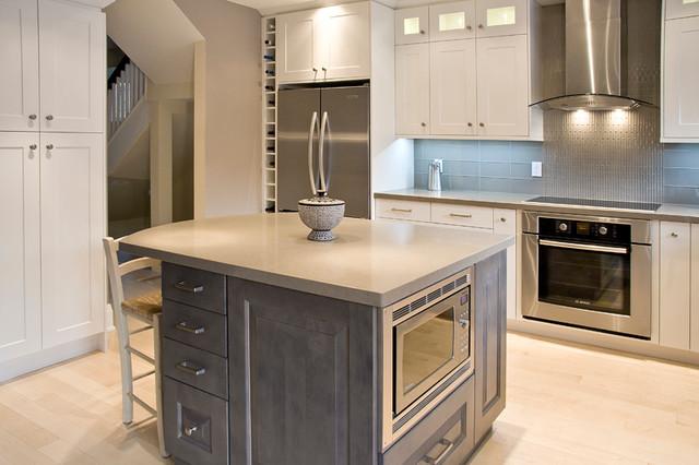 Uptown Reno transitional-kitchen