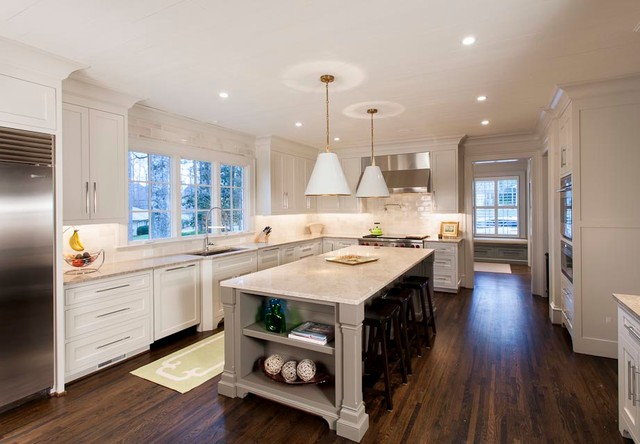 Urban Building Group: Charlotte, NC traditional-kitchen