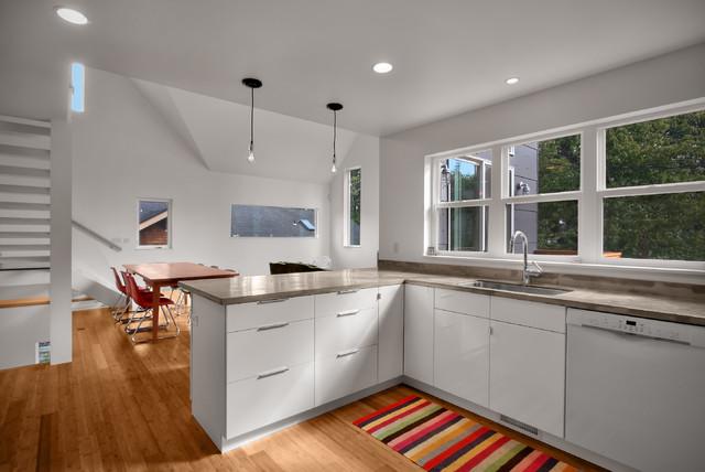 Modern Duplex modern-kitchen