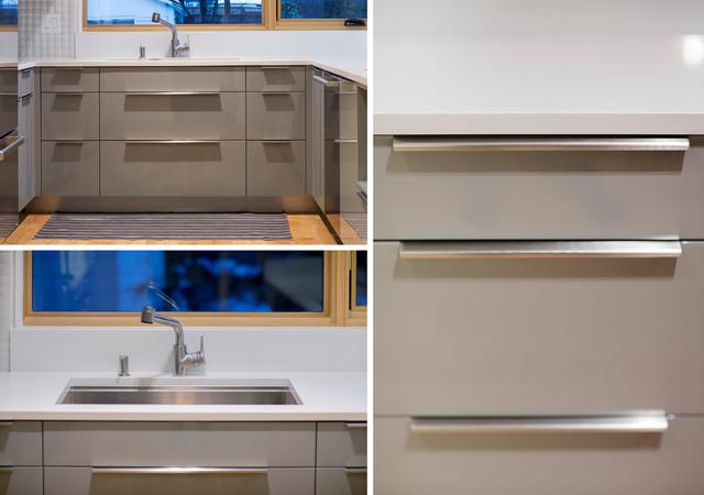 Urban Cooks' Home contemporary-kitchen