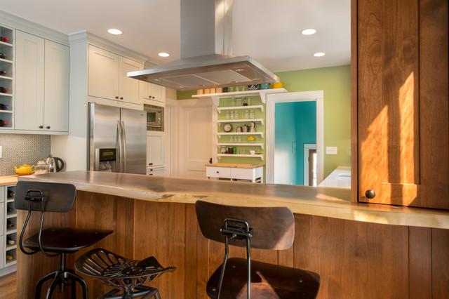 Urban Country Kitchen Transitional Kitchen Denver By Ku Interior Design