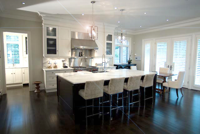 Urban Country Manor eclectic-kitchen