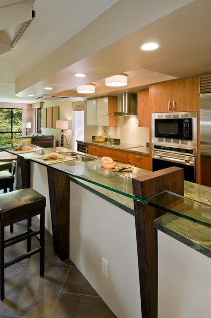 Urban Edge Contemporary Kitchen Hawaii By Archipelago Hawaii Luxury Home Designs