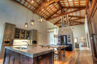 Urban Farm House Farmhouse Kitchen Austin By