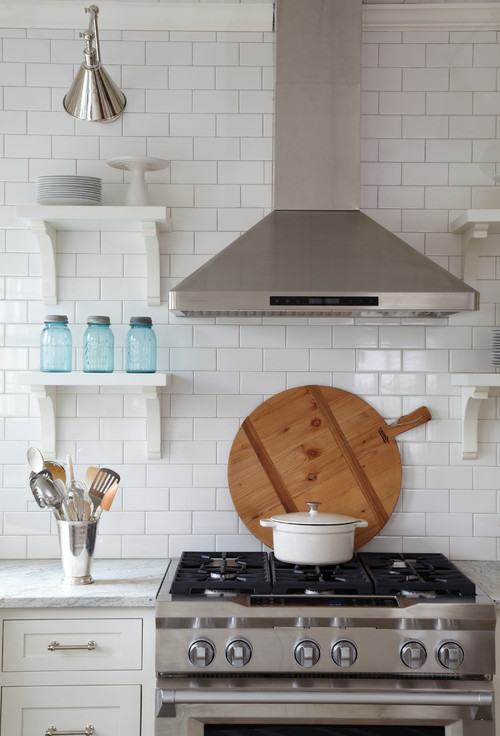 how to choose the right tile layout - Bathroom Subway Tile Backsplash