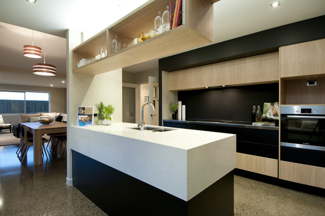 Great Urban Homes Showhome Contemporary Kitchen