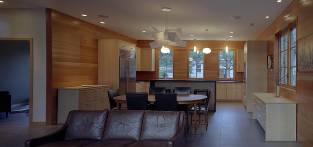 Urban Infill contemporary-kitchen