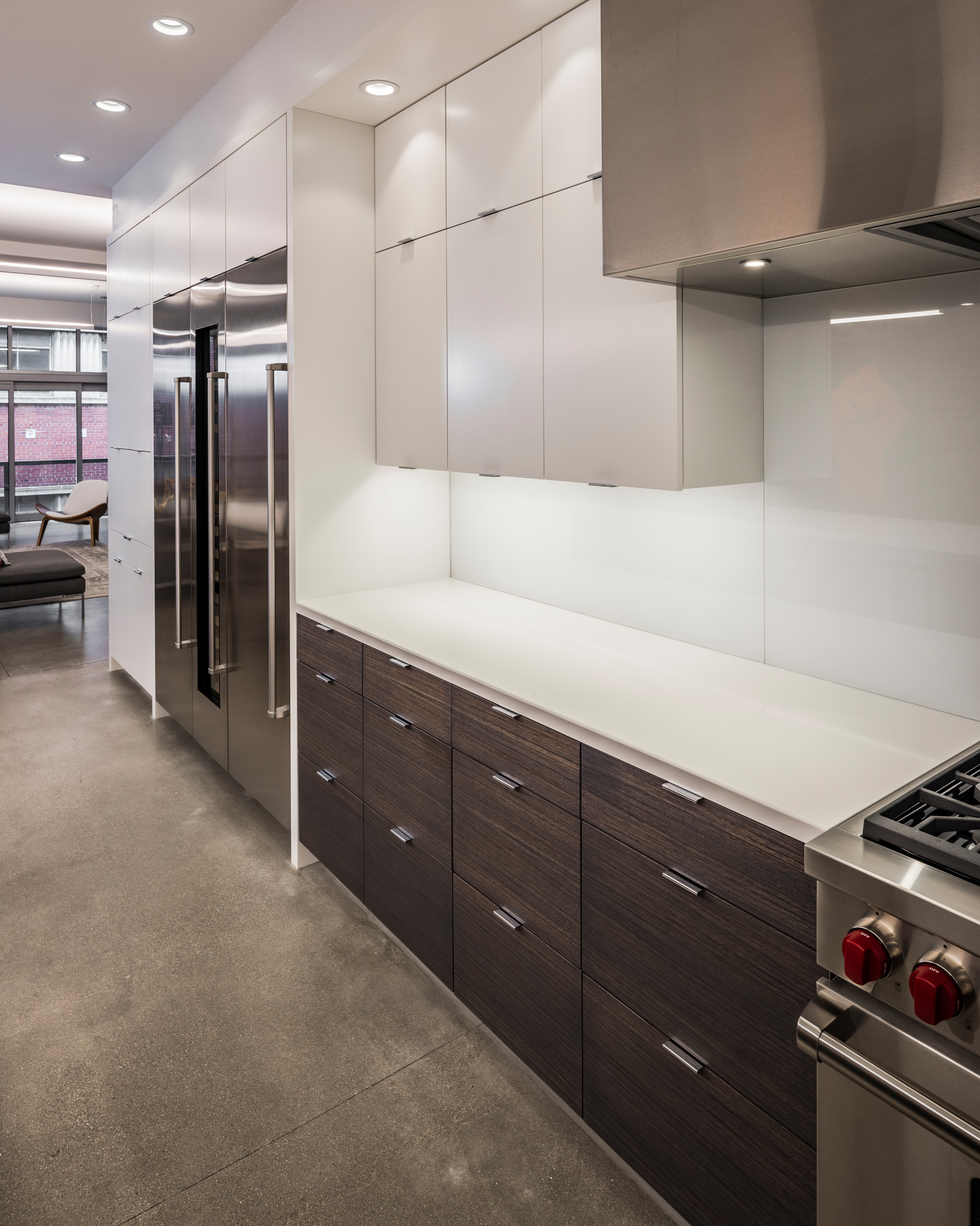 Urban Loft by Don Justice Cabinet Makers
